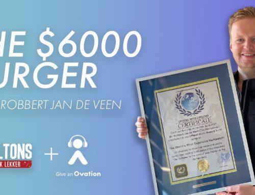 Creating The $6000 Burger with Robbert Jan de Veen